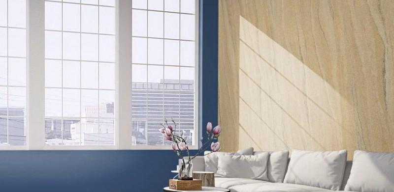 Sandsteintapete flexibler Sandstein Wandverkleidung Fassadenverkleidung