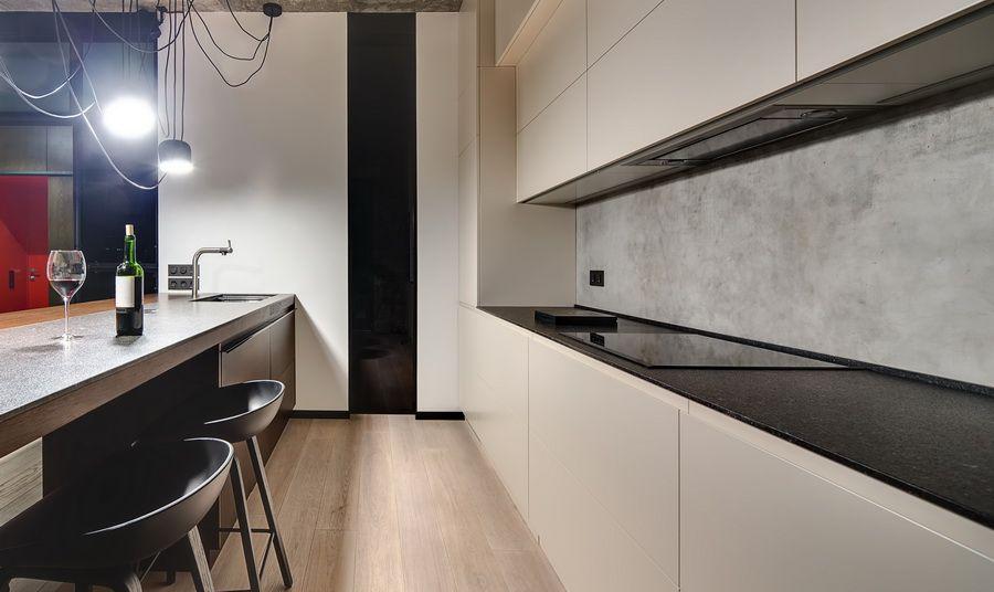 Küchenrückwand Betonoptik