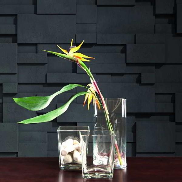 Gran Geométrico Negro Italia - Wandpaneele - Life Style Kollektion