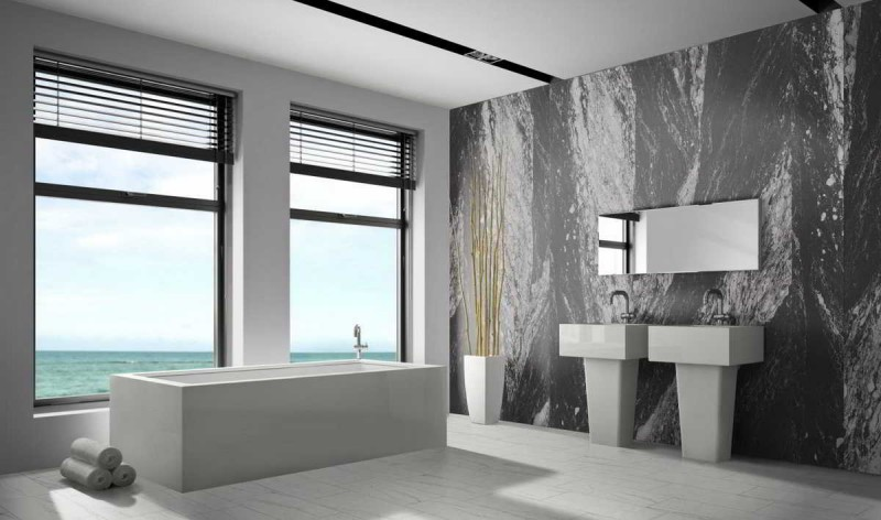 sandsteintapete badezimmer