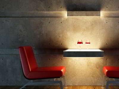 flexibler beton wandverkleidung