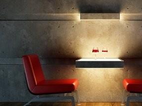 Betonfurnier Wand und Fassade flexibler Beton Rollbeton
